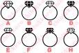 画像1: 指輪・リングアイロンシート (1)