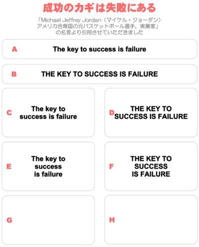 画像1: 成功のカギは失敗にある/The key to success is failure★セミオーダーアイロンシート