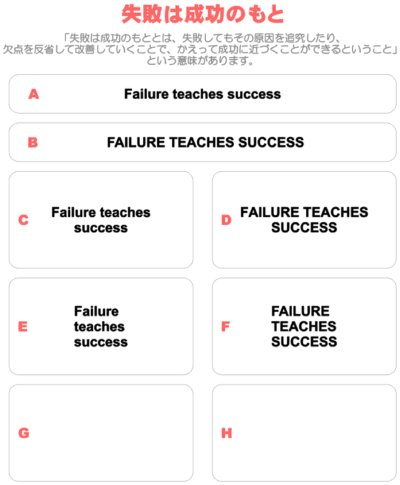 画像1: サイズ&文字が選べることわざアイロンシート★失敗は成功のもと/Failure teaches success