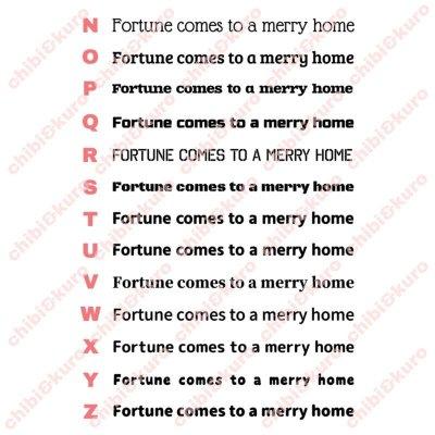 画像3: サイズ&文字が選べることわざステンシルシート★笑う門には福来たる/Fortune comes to a merry home