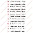 画像4: サイズ&文字が選べることわざアイロンシート★成功のカギは失敗にある/The key to success is failure